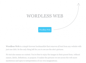 Wordless Web (een Firefoxplug-in)